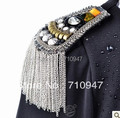 2016 new fashion cool men epaulet / cool men jewelry /party accessories