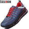 Keloch Новых Прибыть Мужская Кроссовки Дышащий Обучение Спортивная Обувь Для Бега для Мужчин Спортивное Кроссовки Zapatillas Hombre 9 Цвет
