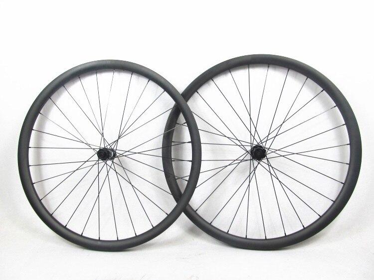 FS27T-30-30 de sport lointain DT350 30mm 30mm Tubeless 27.5er carbone roues vtt sans crochet, VTT roue de vélo 650B sans crochet