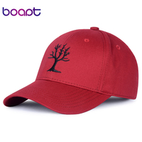 BOAPT Tree Of Life Pattern Embroidery Women S Baseball Caps For Men Hats Casual Summer Brand