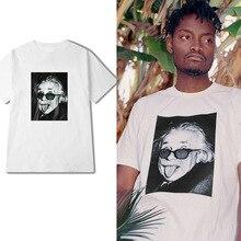 ZOGAA 2019 Albert Einstein Streetwear T shirt Men Funny printed Tops  loose-sized short-sleeved T-shirts Couple Tee