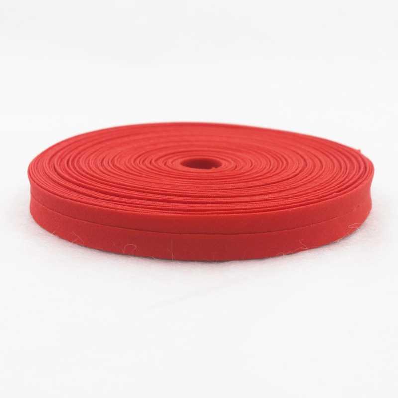 Cinta de polarización en T/C de 12mm de poliéster/algodón, cinta de Color liso para costura de ropa DIY y recorte, 18 yardas/rollo