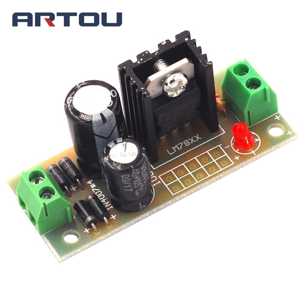 1pcs L7805 Lm7805 Three Terminal Regulator Module 5v