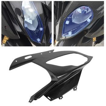 For bmw s1000rr Front Fairing Headlight Cowl Bodywork Fairing Real Carbon Fiber for S1000RR  2015 2016 2017 2018