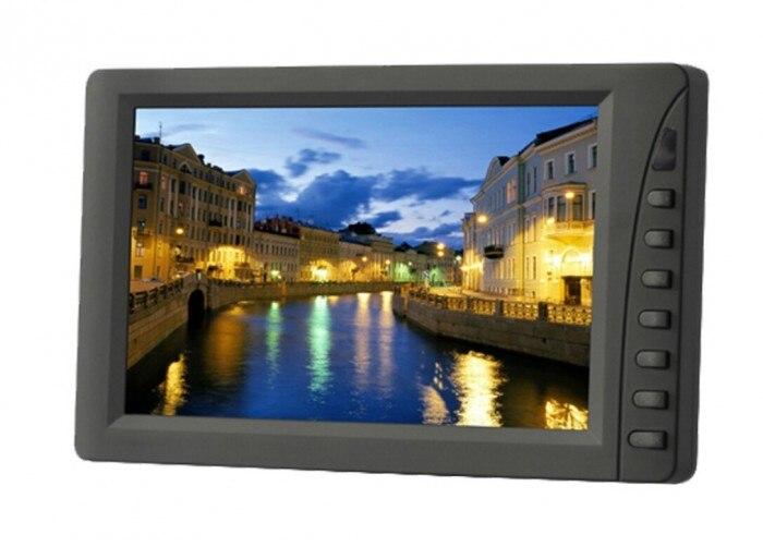 LILLIPUT eby701 np/C/T 7 дюймов светодиодный сенсорный Мониторы, с VGA связаться с компьютером, 1 аудио, 2 видео Вход, Встроенный динамик