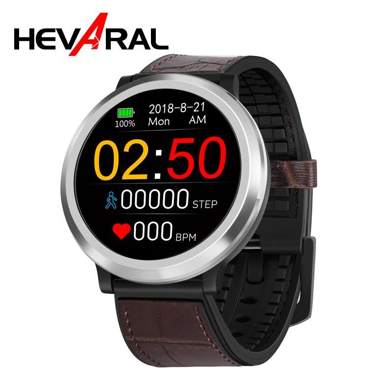 Hevaral Relógio Inteligente 3D Dinâmico UI GPS Smartwatch Android Freqüência Cardíaca Relógio Monitor de Pressão Arterial IP67 Pedômetro Esportes Para Homens
