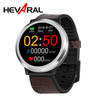 Hevaral Smart Watch 3D Dynamic UI GPS Android Smartwatch Heart Rate Blood Pressure Monitor Relogio IP67 Sports Pedometer For Men