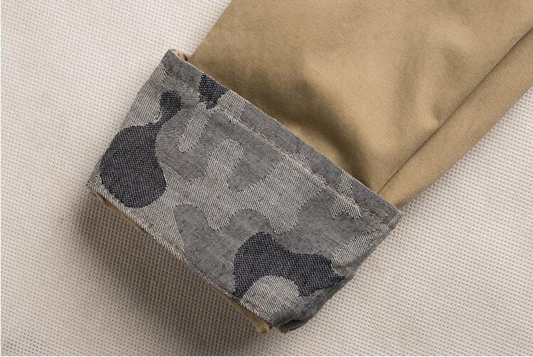 100% Cotton Military Shirt Men (5)