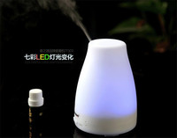 HTSS01 14 Ultrasonic Humidifier LED Light 7 Color Change Dry Protect Ultrasonic Essential Oil Aroma Diffuser