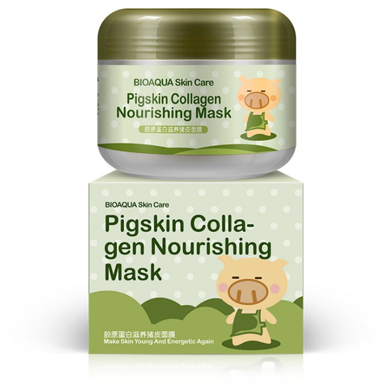 Korean Collagen Pig Skin Face Mask 100g Anti Aging Cream Ant