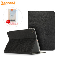 TURRAS Leather Case For New IPad 2017 9 7 Inch Shockproof Folio Stand Cover 9 7