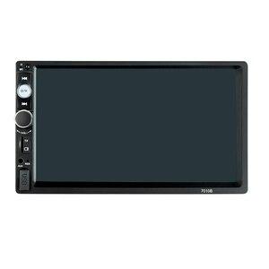 Image 5 - 7010B 7 inch car multi function player, touch screen Bluetooth MP3 player RM/RMVB/BT/FM PLAYER  MP5 player Car radio