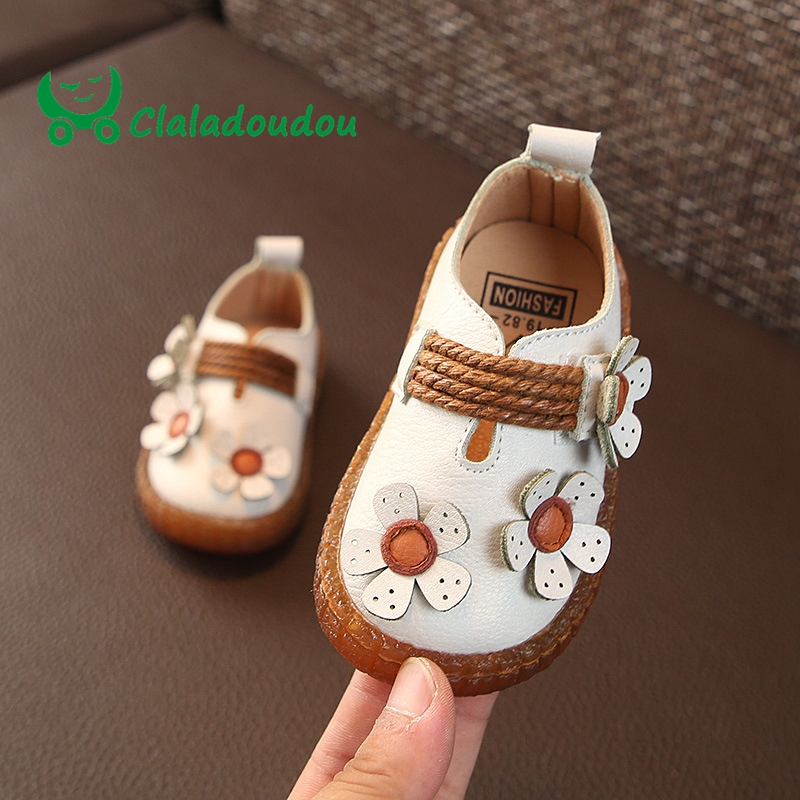 0-2Years Old Brand Baby Flower Shoes For Kids 2018 Autumn Spring Fashion  Soft 4844543177bf