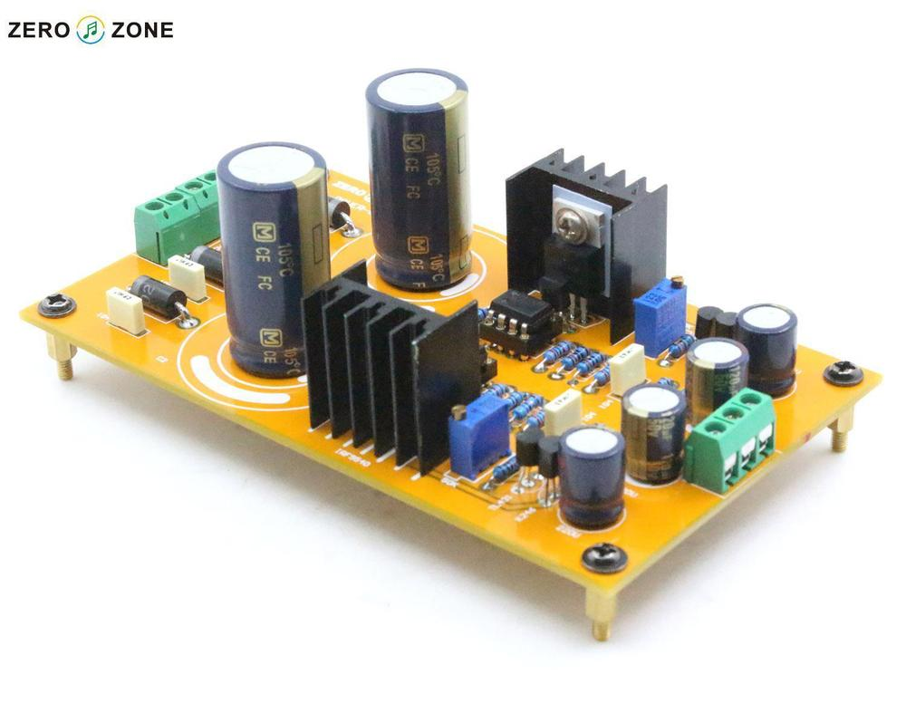2015 NEW ZERO ZONE Standard POWER 02 Adjustable pre linear Power supply kit  for preamp L1510 3-in Industrial Computer & Accessories from Computer &