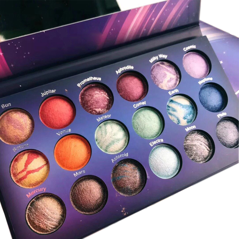 18 Colors Professional Galaxy Chic Shimmer Eyes
