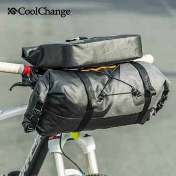 CoolChange ขี่จักรยานกระเป๋ากันน้ำหลอด Handlebar Mtb จักรยานถุง Handlebar กีฬากระเป๋าตะกร้าจักรยานอุปกรณ์เสริม