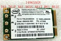 Nueva Tarjeta Inalámbrica Intel Wifi Link 4965AGN Wireless-n Wi-fi mini pci-e tarjeta para ibm lenovo thinkpad r61 t61 x61 42T0865