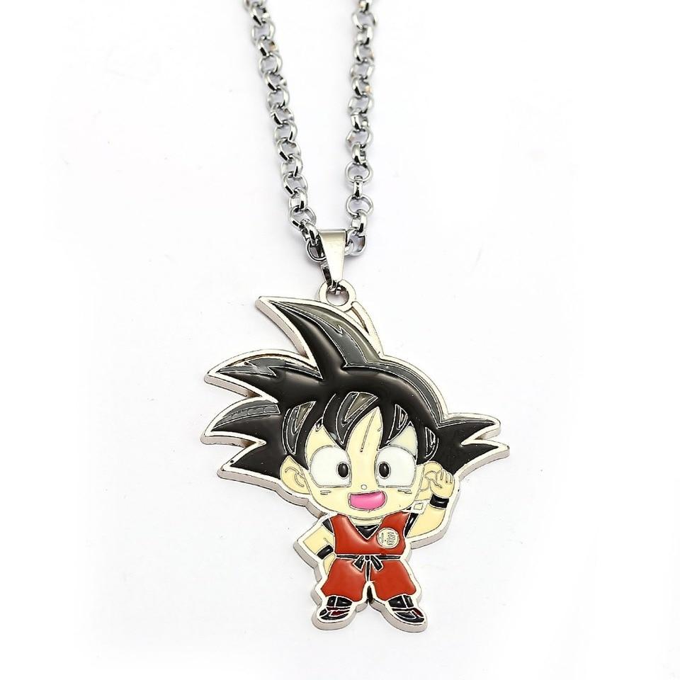 Dragon Ball Son Goku Necklace Jewelry Key Chain Keyring Pendant Charms Gift