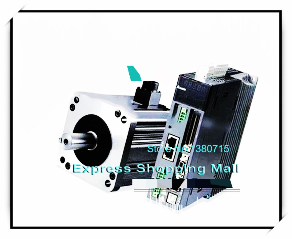 ASD-B2-0221-B ECMA-C20602SS 60mm 220v 200w 0.64NM 3000rpm 17bit brake AC servo motor&drive kit&cable new original delta servo driver 200w 0 2kw 1 phase asd b2 0221 b spot