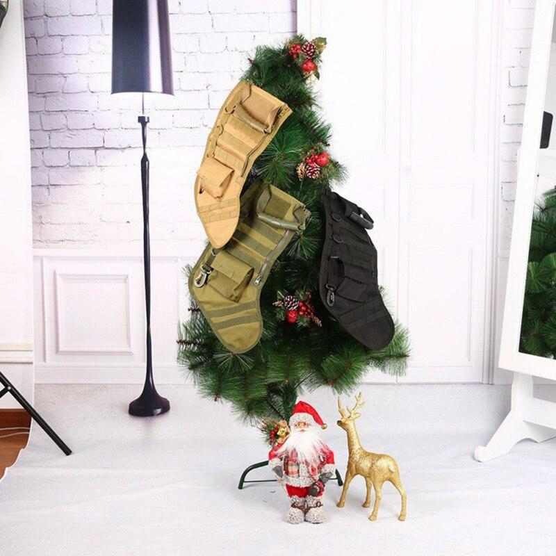 2018 calcetín de Navidad bolso de ataque militar caza regalo de Navidad caliente calcetines invierno calcetines de caza de
