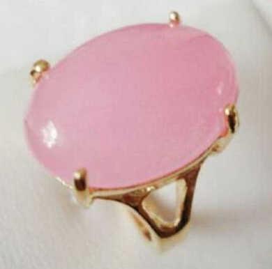 ร้อนขาย->@@ 0xเครื่องประดับแฟชั่นสีชมพูหยกแหวนสีขนาด: 7,8, 9 #สามารถเลือก-top qualityจัดส่งฟรี