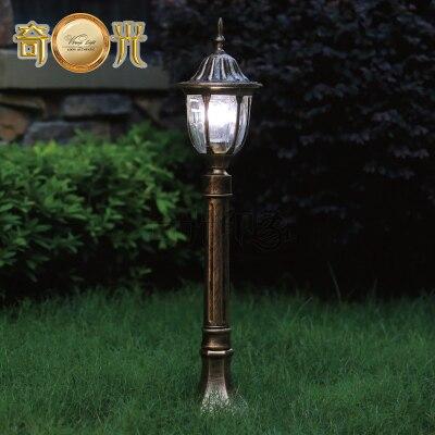 H77cm Black Bronze Garden Lamp Post Lighting Outdoor Light Path Street Casting Aluminum Ing For Europe In Lights From