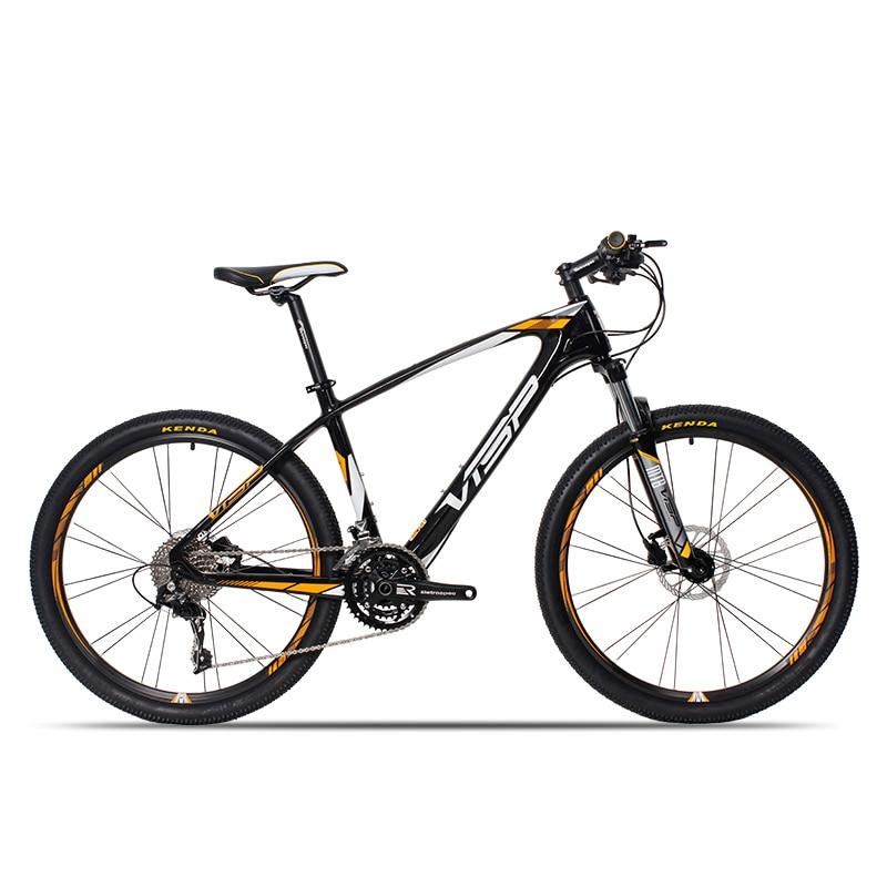 26 düymlük karbon lif dağ velosipedi 30 sürət 33 sürət - Velosiped sürün - Fotoqrafiya 3