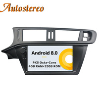 Android 8 Car No DVD Player GPS Navigation For Citroen C3 2005+ Autostereo radio tape recorder Multimedia head unit IPS&DSP SAT