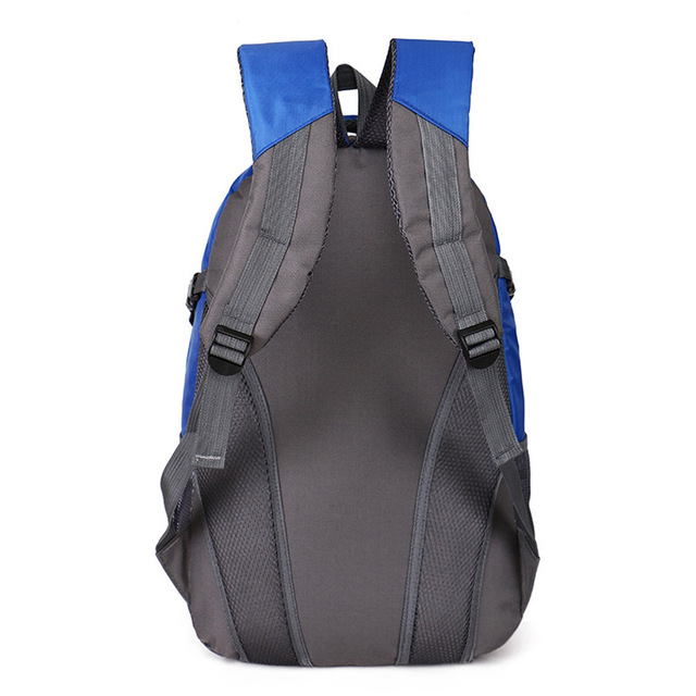 Men's Capacious Colorful Nylon Backpack without Pattern