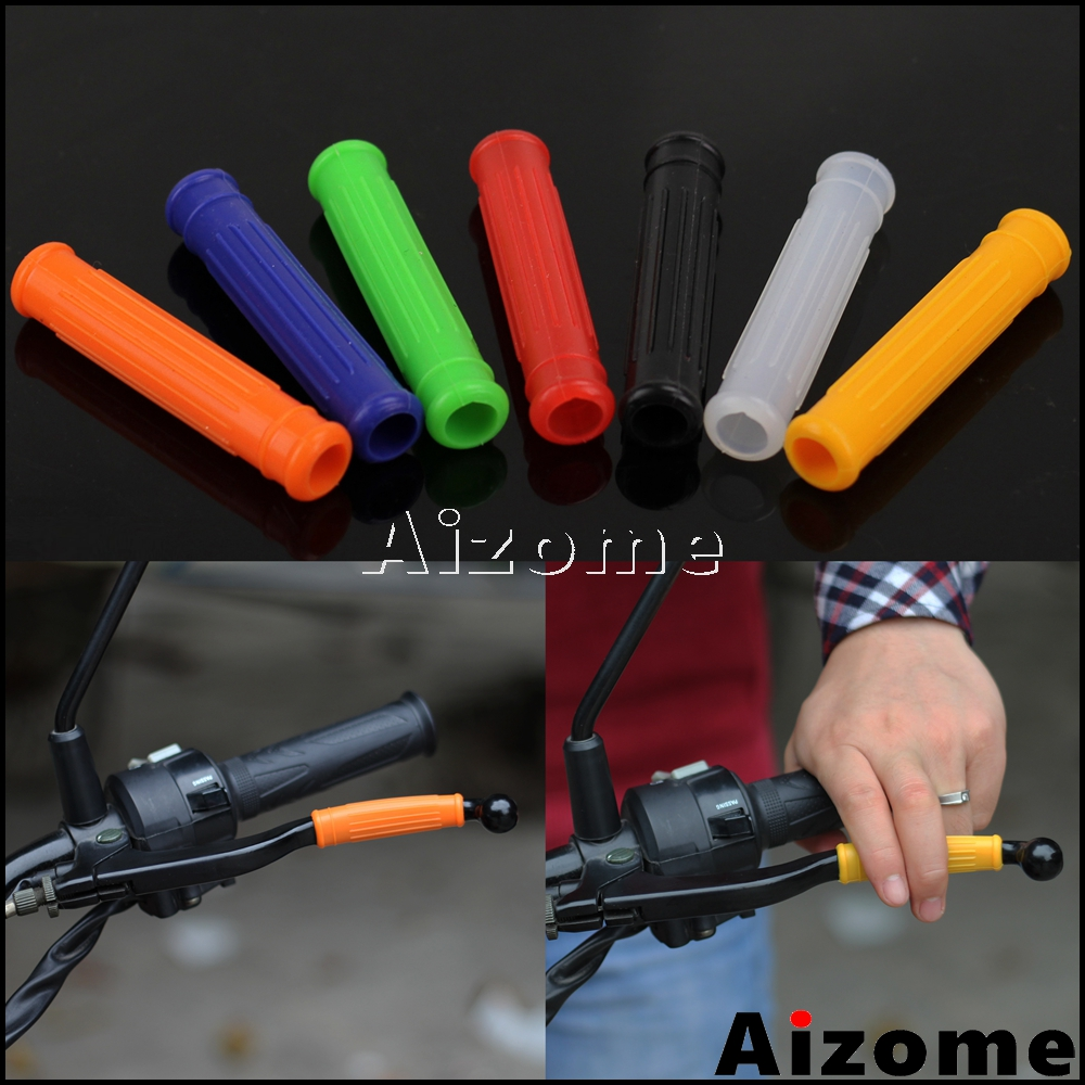 Universal Motorcycle Motocross Lever Sleeve Brake Clutch Lever Grip Cover New