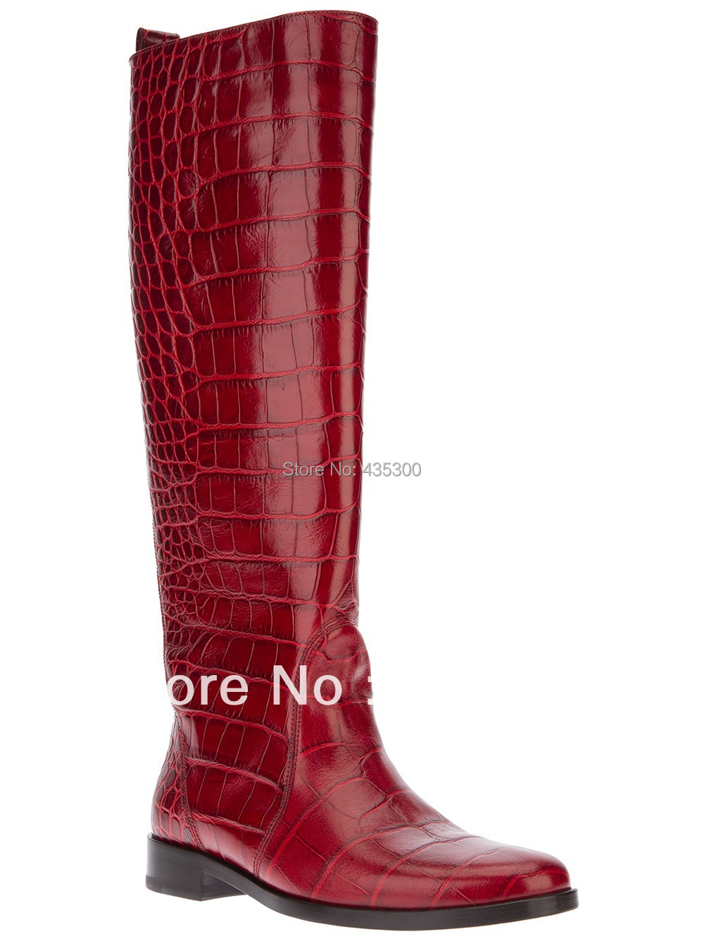 wholesale womens real leather red stone embossed faux