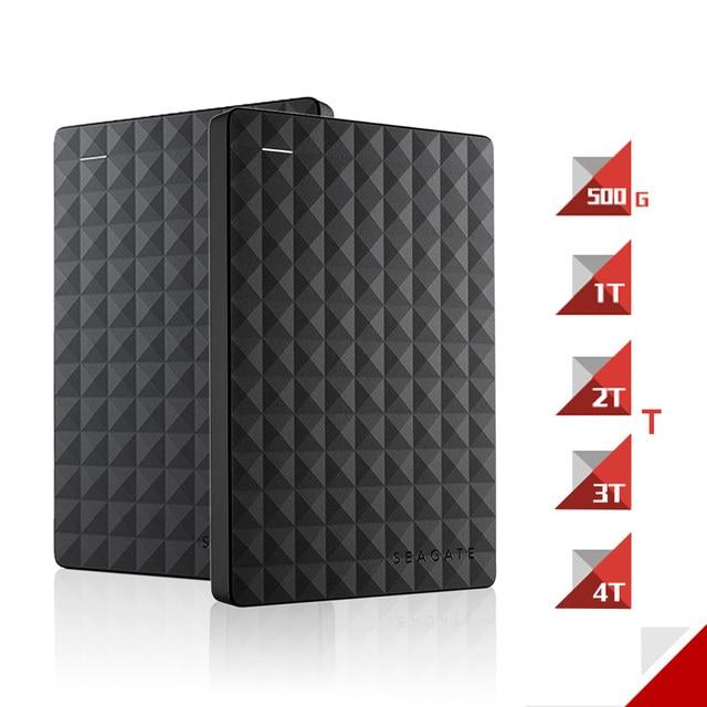 "Big Discount Seagate Expansion HDD Drive Disk 4TB/2TB/1TB/ USB 3.0 2.5"" Portable External Hard Drive HDD 1TB for Desktop Laptop"