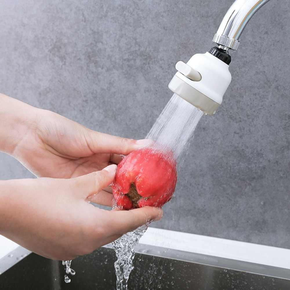新しい台所のシャワーの蛇口エアレーター回転可能なバブラー蛇口ヘッドエクステンダー節水タップノズルアダプタシンクアクセサリー