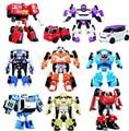 3 unids/lote TOBOT Transformación Robot Coche de Dibujos Animados de Corea TOBOT Car Juguetes Niños Juguetes Vehículos Regalo