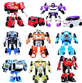 3pcs/Lot TOBOT Transformation Robot Car Korea Cartoon TOBOT Car Toys Children Vehicle Toys Gift