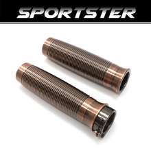 For Harley Handle Bar Hand Grips Sportster XL1200 883 Softail Dyna Touring 1 25mm CNC Custom Rough Crafts Motorcycle triclicks new turn signal lights lenses round cover lens motorcycle light covers car covers for dyna softail sportster touring