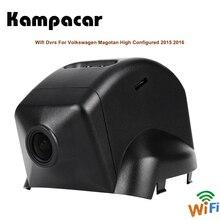 Kampacar Auto Video Registratore Auto Wifi Dvr Con Due Telecamere Per Volkswagen Magotan di Alta Configurato 2015 2016 Dash Car Dvr macchina fotografica