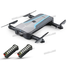 JJRC H62 Wifi FPV RC Drone Quadcopter Optical Positioning 720P HD Camera w/ 2 batteries