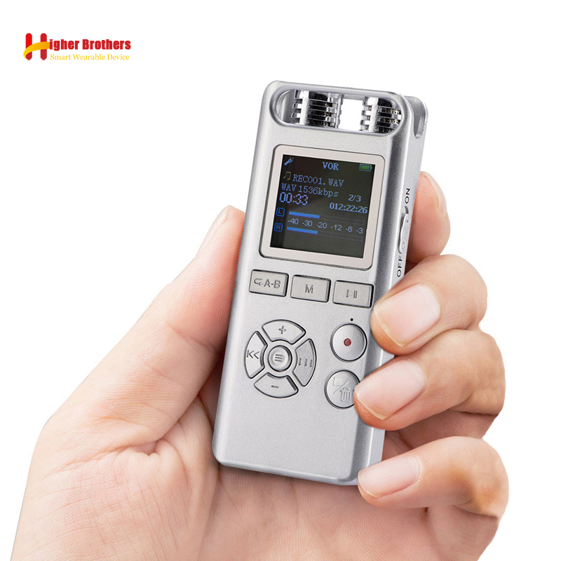 Freundlich Professionelle Smart 8 Gb Digital Voice Recorder Audio Aufnahme Stift Remote-sound-kontrolle Lärm Reduktion Stereo Loseless Musik Mp3 Digital Voice Recorder