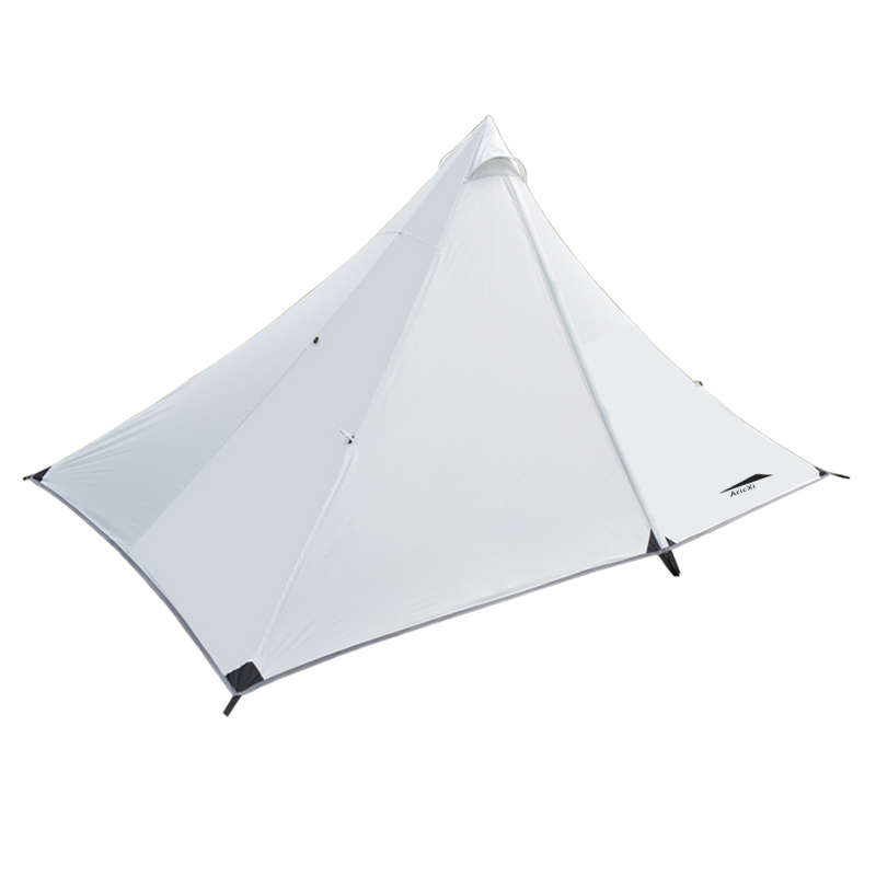 1 Person Tent Double-layer Tent Camping 4 Seasons Waterproof Tent Outdoor Rodless tent 3 4 person outdoor camping tent double layer quick open install tent waterproof 230x210x140cm