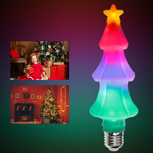 CanLing E27 Led 220V Flame Lamp E26 110V Creative Colorful Effect Christmas Light LED 3W Holiday Decoration AC85-265V