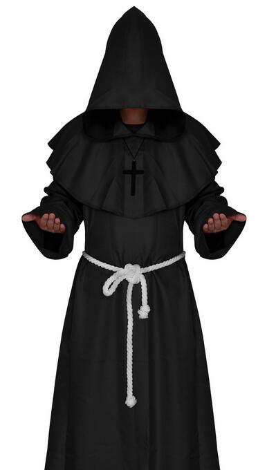 LIVRARE GRATUITĂ Călugăriță Călugăriță Haină Cloak Cape - Costume carnaval - Fotografie 4