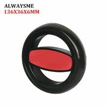 ALWAYSME, 1 шт., запасные части для детской коляски, колеса для коляски, Универсальные Передние и задние колеса диаметром 136 мм, Ширина 36 мм, отверстие 6 мм