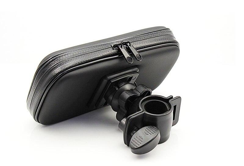 Bicicleta soporte para teléfono móvil a prueba de agua caja de la bolsa para htc