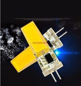 Image 2 - 1PCS LED COB 10W GY6.35 G8 110V 220V dimmable HA CONDOTTO LA GY6.35 110V LED G8 220V cob2508 dimming led g6.35 220v cob2508 di cristallo di Luce