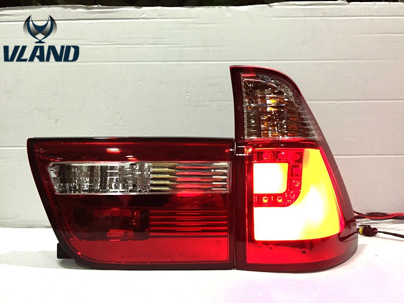Free shipping for car Rear lamp for BMW X5 E53 LED Tail Light Rear Lamp 1998-2006 Year DRL+Brake lamp +Reverse lamp dhl ems free shipping for bmw x5 rear left right air suspension spring bag 37126790078 cars spring bag
