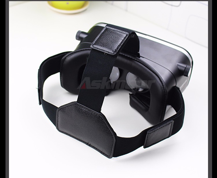 VR Shinecon VR Virtual Reality 3D Glasses Headband Cardboard Headmount Mobile 3D Movie Games for iPhoneSamsung 4.7-6 Smartphone (18)