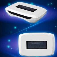 Solar Car Air Purifier Negative Ion Formaldehyde Solar Oxygen Bar Ionizer Air Purifier Portable Home Air