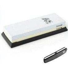 TAIDEA 1000 3000 Grit Reise Messer Spitzer Korund Whetstone Doppelseitige Messer Schärfen Stein Outdoor Tool Messer guide
