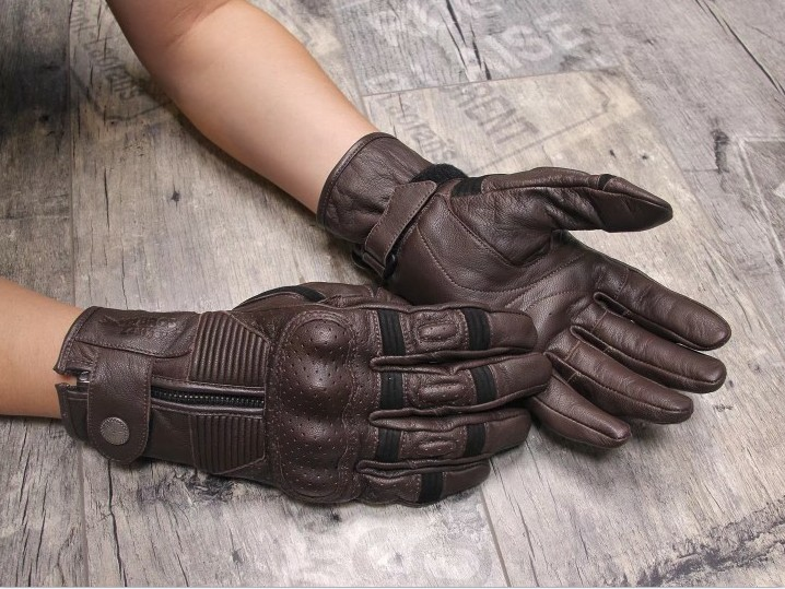 2018 New uglyBROS Gloves Vintage Locomotive Sheepskin Gloves Motorcycle Protective Gloves Racing Gloves Size S-2XL gloves northland gloves
